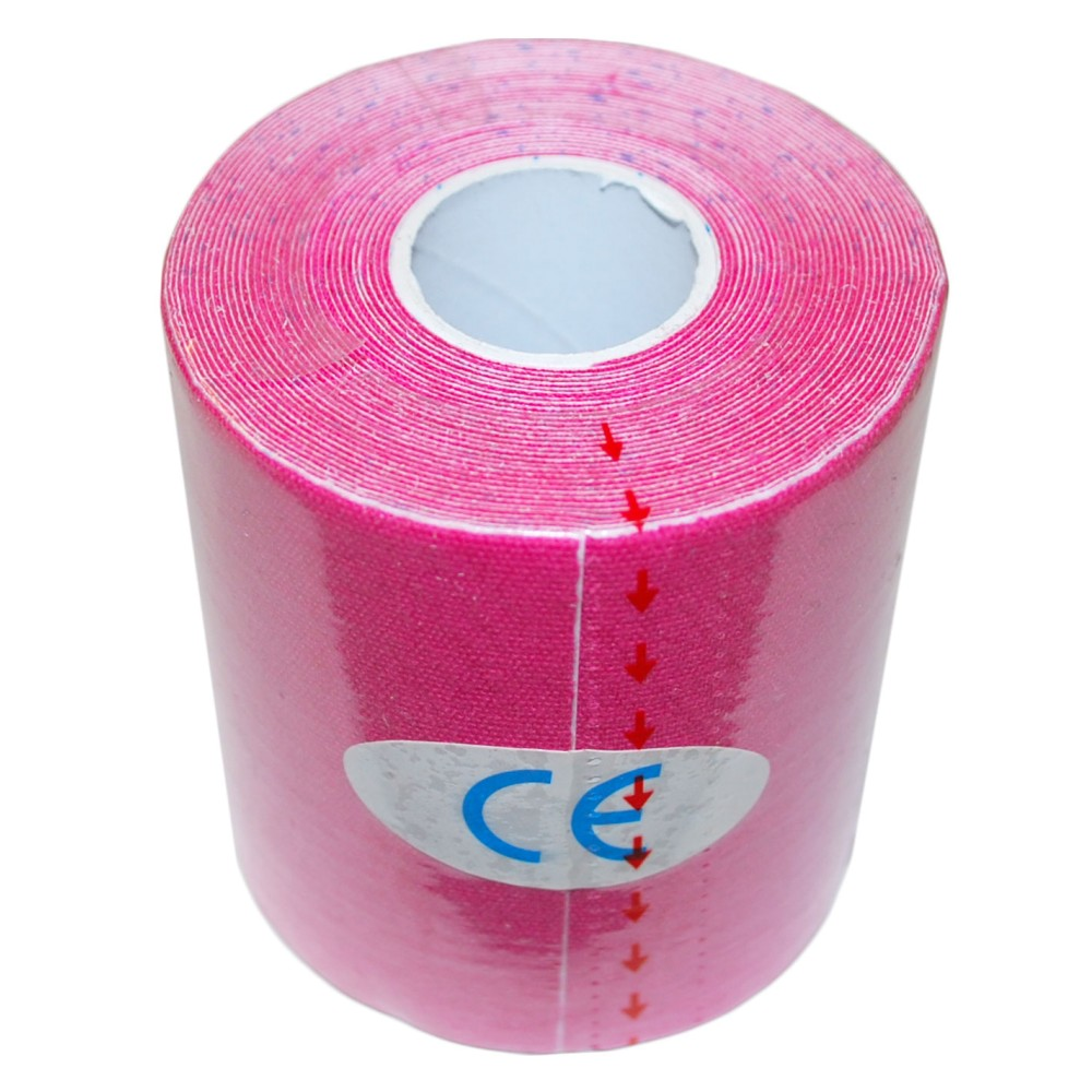 7.5cm x 5m Pink Kinesiology Tape
