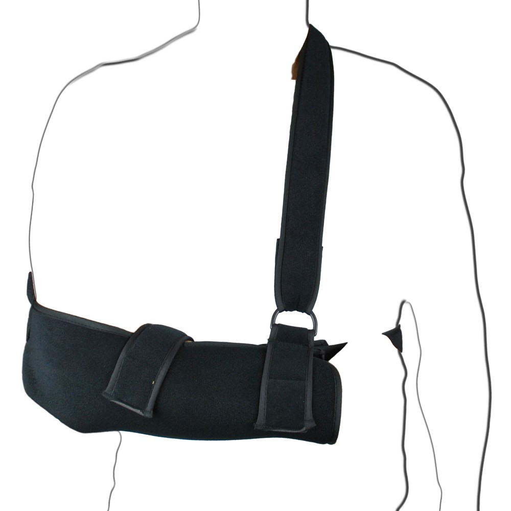 Black Padded Shoulder Sling