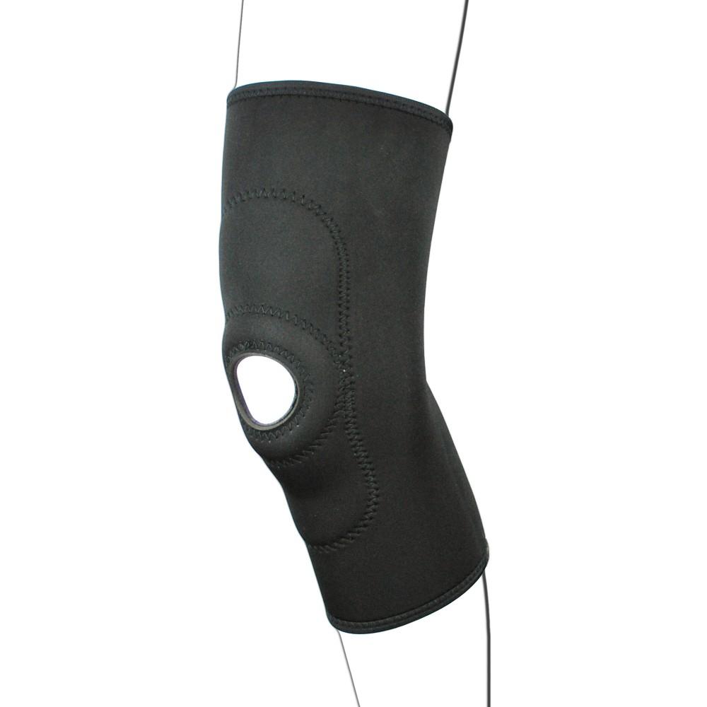 Black Neoprene Patella Knee Support