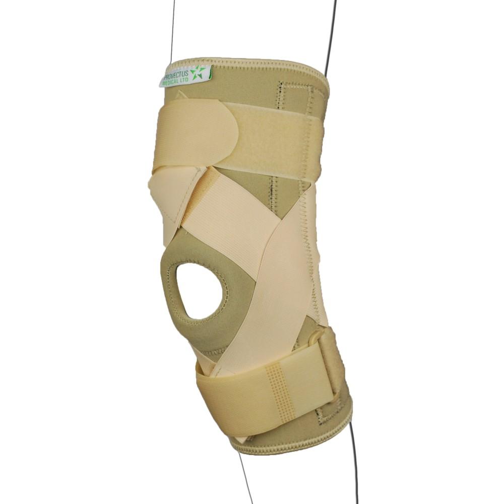 Neoprene Beige Hinged Knee Brace