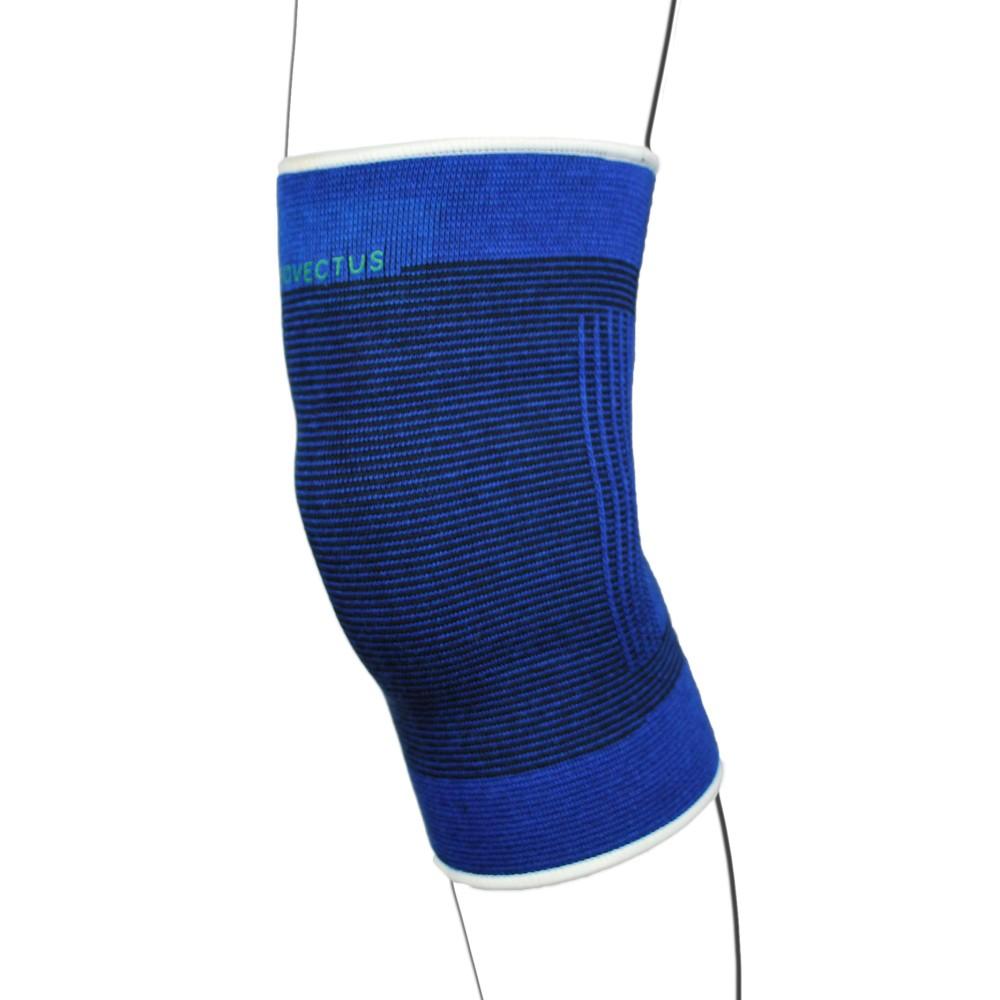 Blue Elasticated Knee Support Bandage