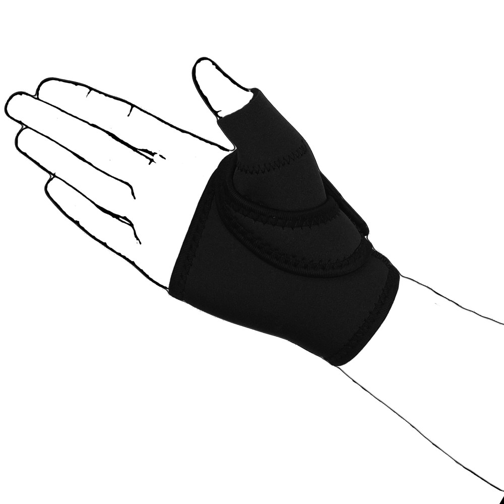 Black CMC Thumb Support