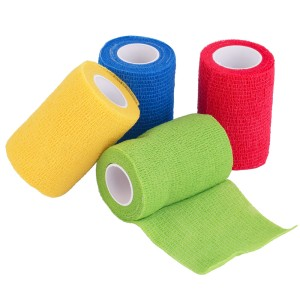 7cm x 4.5m Red Elastic Sports Bandage