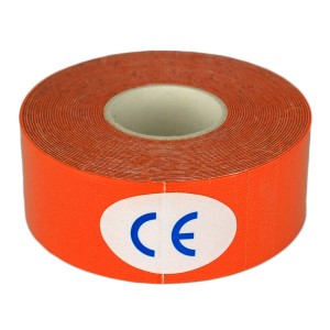 2.5cm x 5m Orange Kinesiology Tape