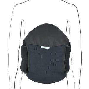 Roller Spine Black Posture Corrector