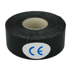 2.5cm x 5m Black Kinesiology Tape