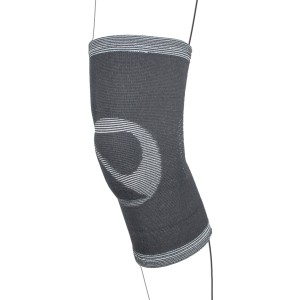 Elasticated Grey Knee Support