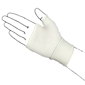 White Palm Hand Support