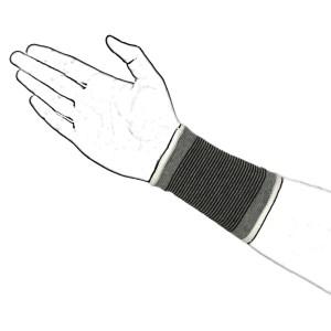 Grey Wrist Band