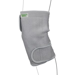 Grey Magnetic knee support