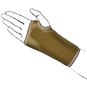 Beige N-Wrap Wrist Brace