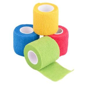 5cm x 4.5m Yellow Elastic Sports Bandage