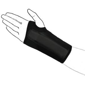 Black Neoprene wrist brace