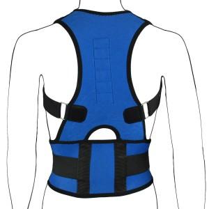 Blue Magnetic Posture Corrector