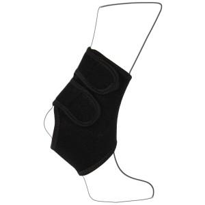 Black Adjustable Ankle Strap Support Brace