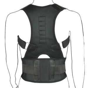Black Magnetic Posture Corrector